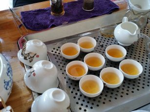 tea again - near Nanjing Tulou